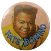 Fats Domino - 'Fats' Button Badge